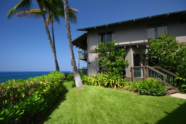 Keauhou Kona home with ocean view