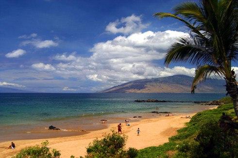 hawaii beaches. Kamaole Beach Park