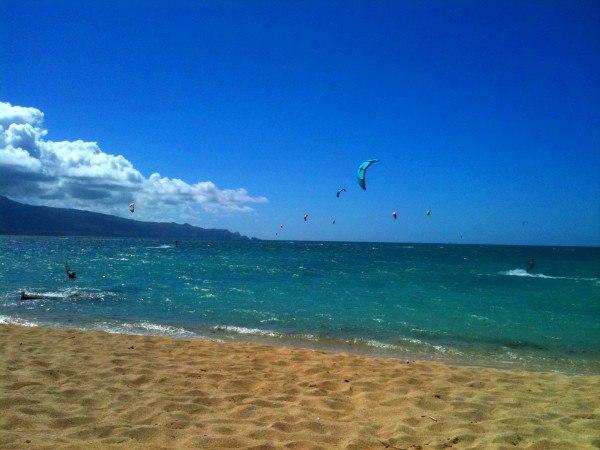 Kiteboarding Maui Style