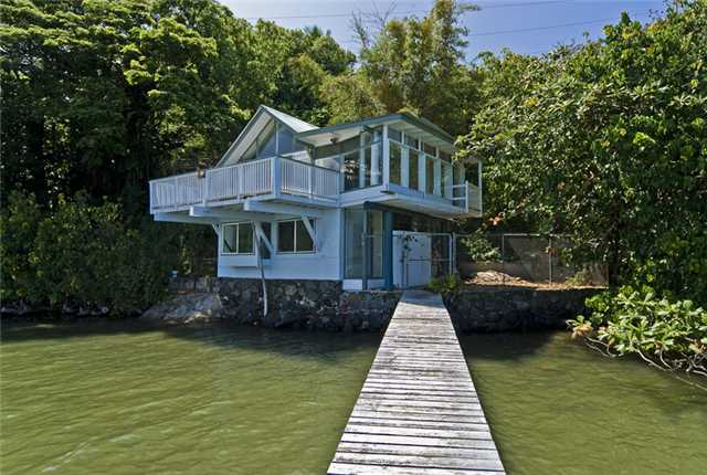 Kaneohe Waterfront Home with Boat Dock
