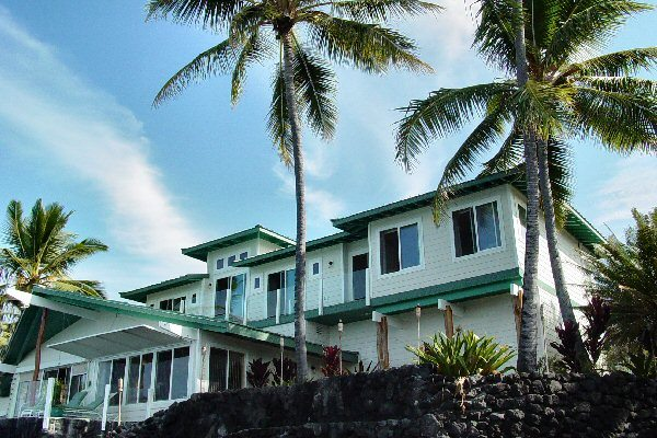 Deal kona oceanfront luxury home for sale hawaii real for Luxury homes in hawaii for sale