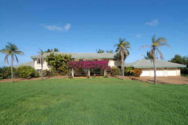 Reo on the ocean bluff in kilauea farms on kauai hawaii for Kauai life real estate