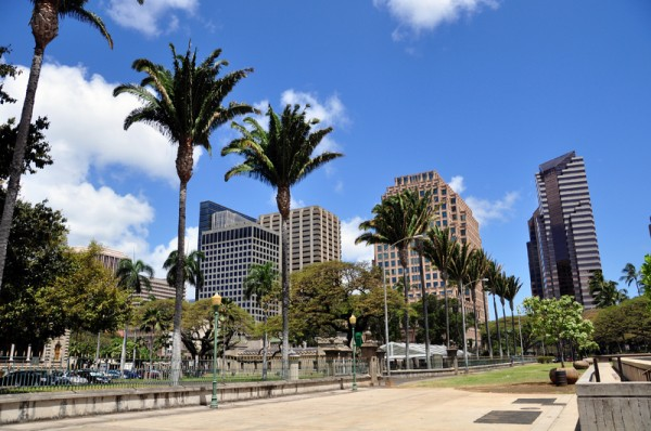Downtown Honolulu Buildings