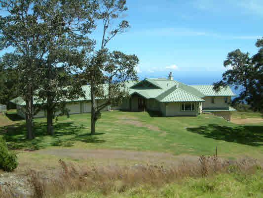 Home on Kukaiau ranch for sale Big Island