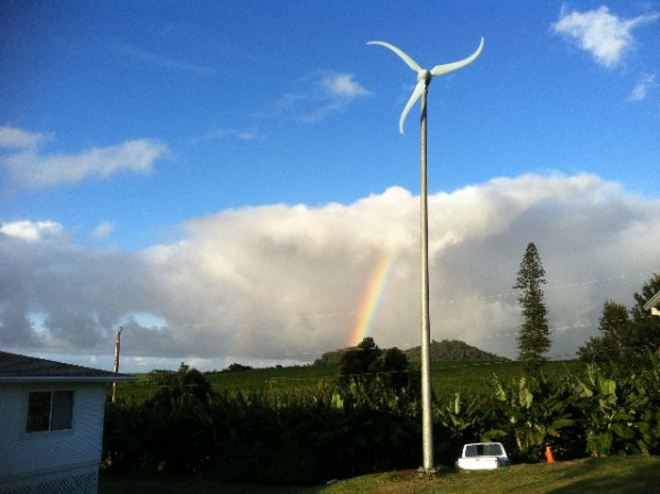 Hawaii Wind Turbine