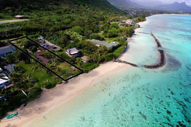 Waimanalo Oceanfront Home
