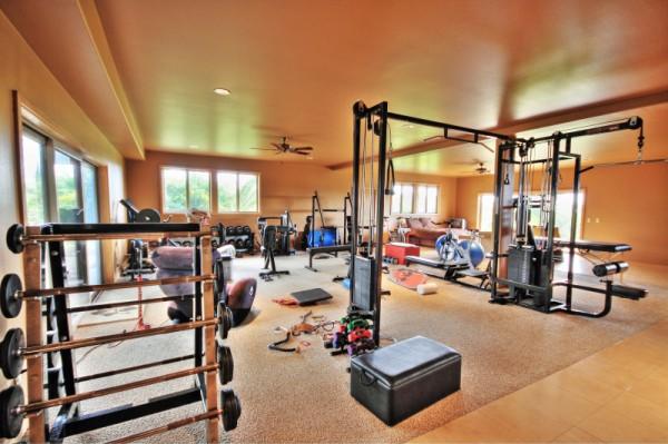 The Gym of Laird Hamilton's Maui Home