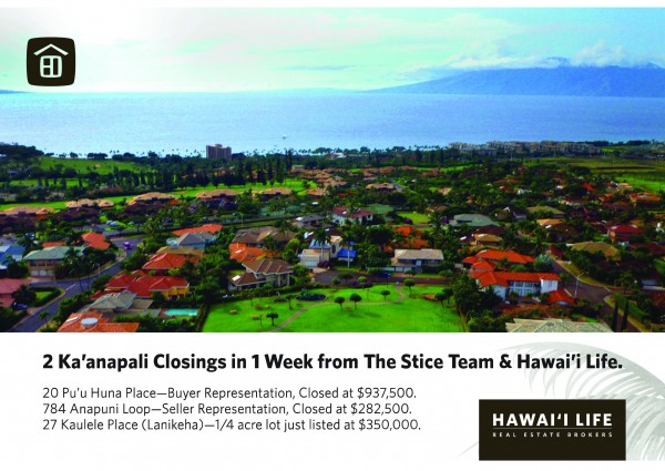 Kaanapali Closings Postcards