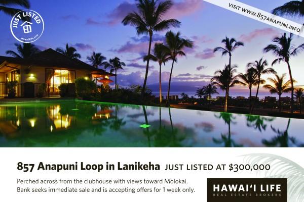 857 Anapuni Loop Just Listed