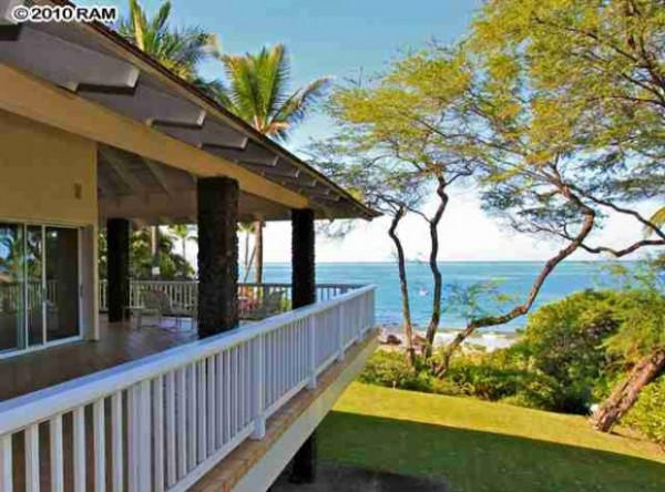 Makena beachfront home