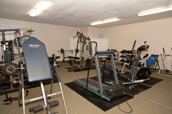 Fitness Room at the Puu Lani Ranch Watch Tower