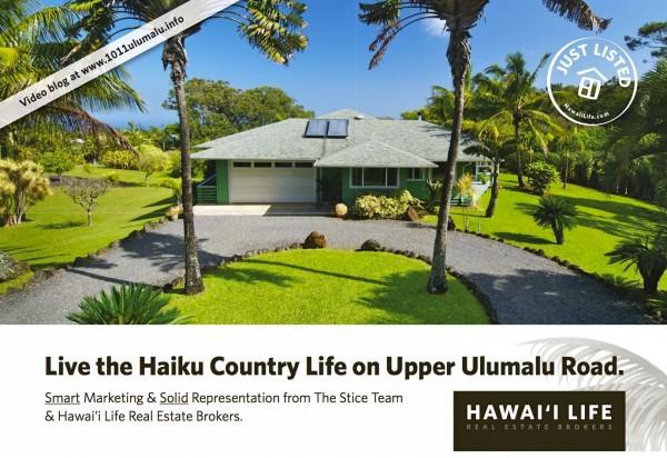 1011 Upper Ulumalu Postcard