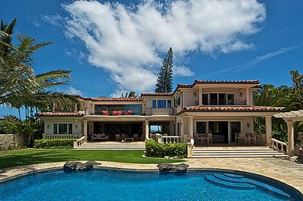 portlock oceanfront estate with pool and cabana  oahu luxury home, Luxury Homes
