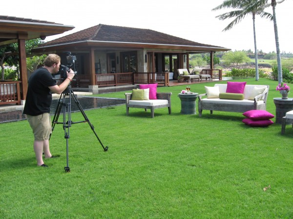 outdoor filming