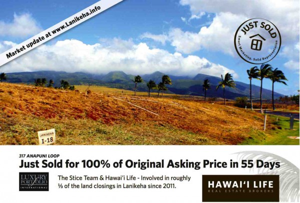Lanikeha Front Side Postcard small version