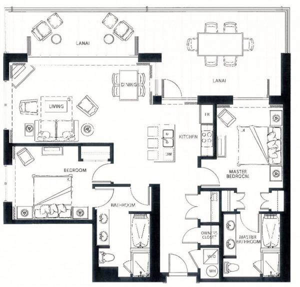 Hokulani 220 Floor Plan