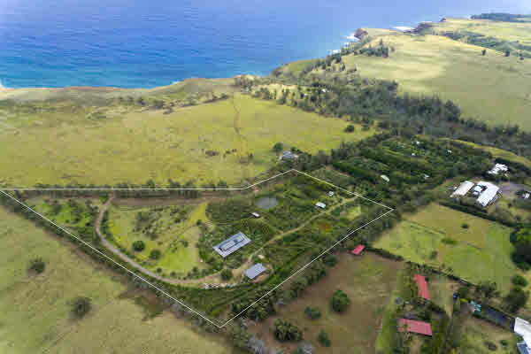 Permaculture farm property for sale in Hawi North Kohala