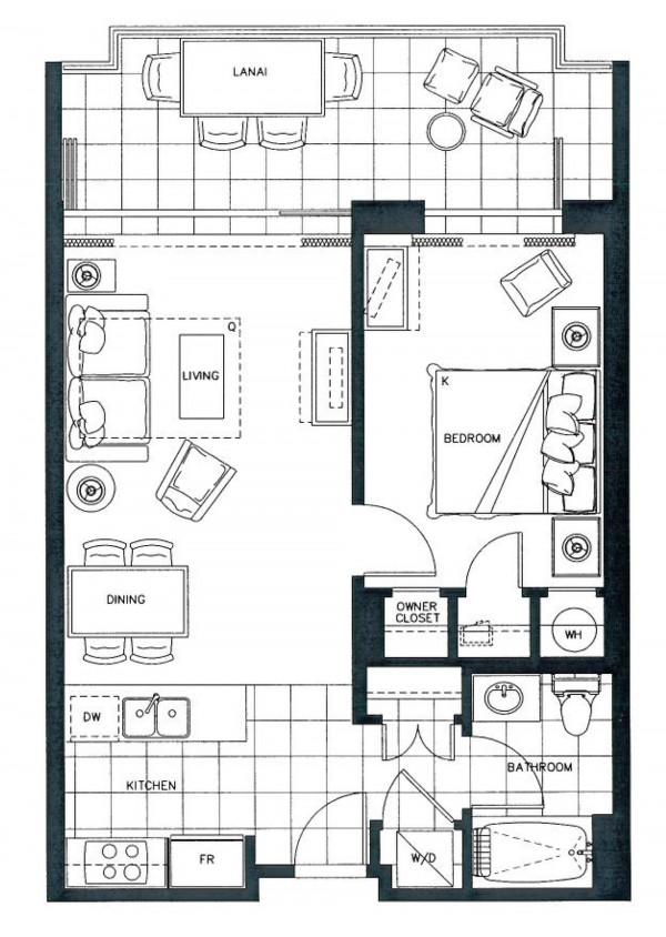 Hokulani Floor Plan