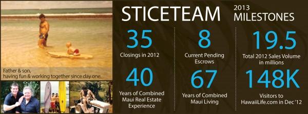 Stice Team Milestones