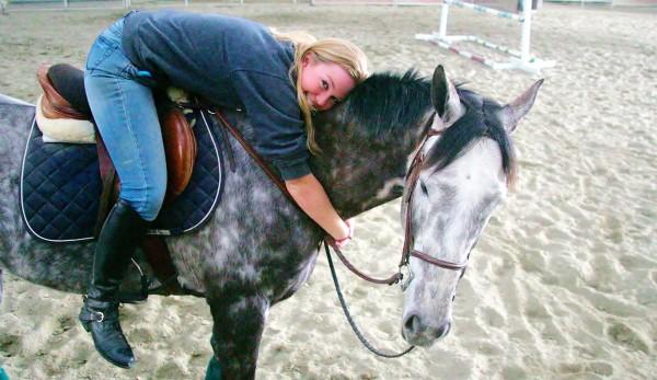 chloe and horse