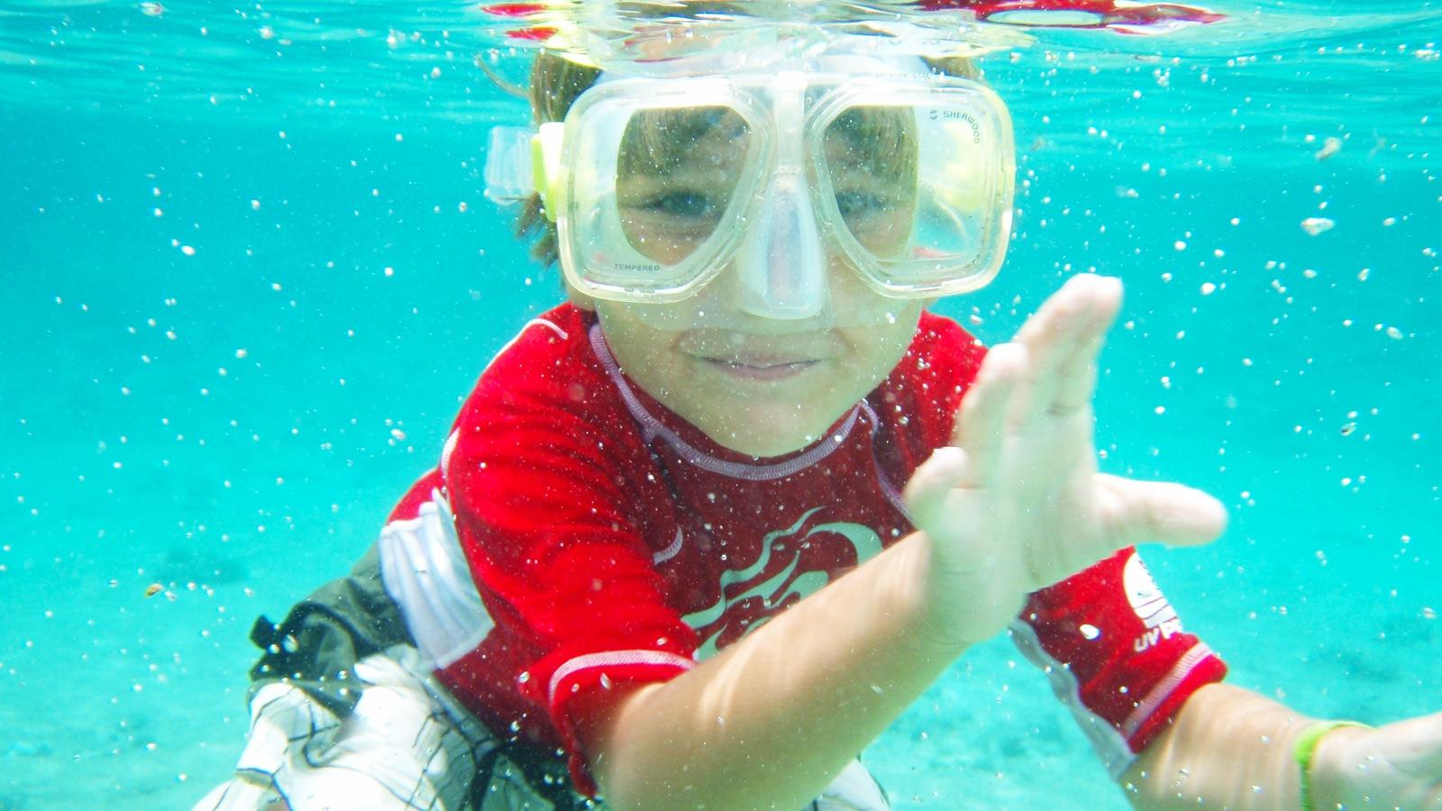 kidsnorkeling