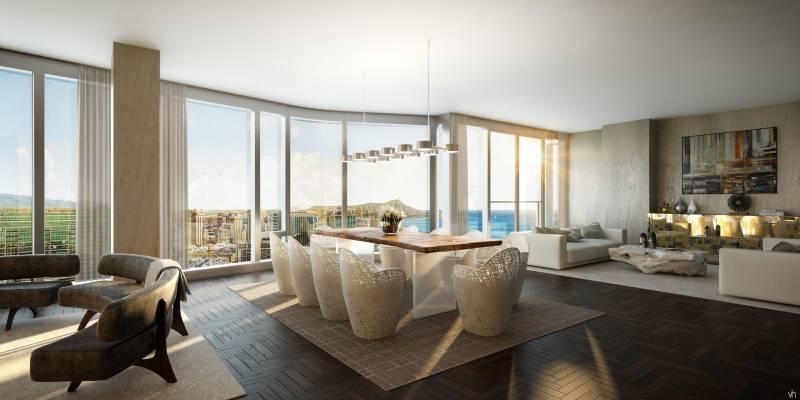 Anaha Penthouse Living Room