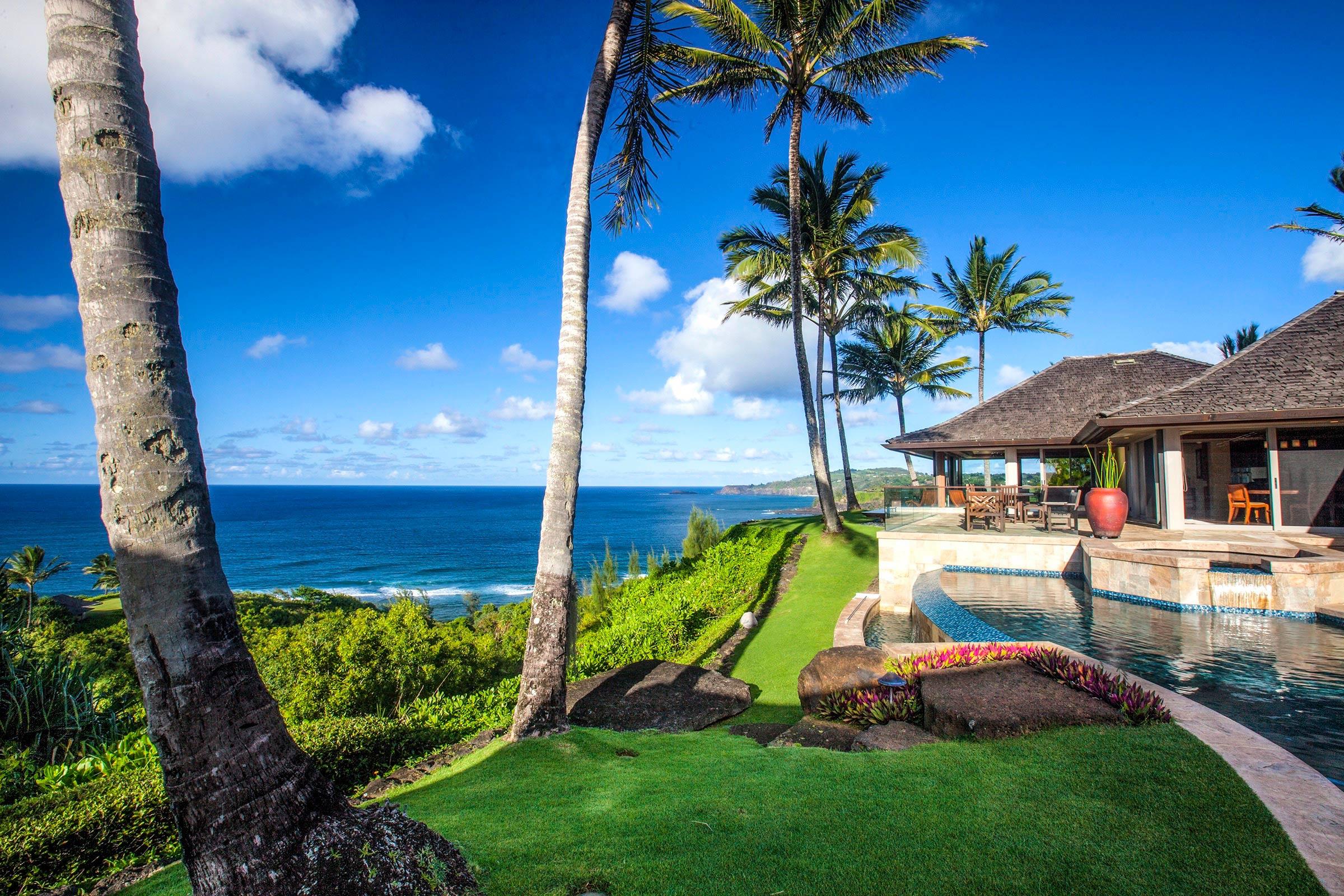 Oceanfront luxury living on kauai 39 s north shore hawaii for Kauai life real estate