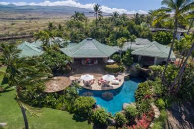 Mauna Kea Fairways North auction aerial view