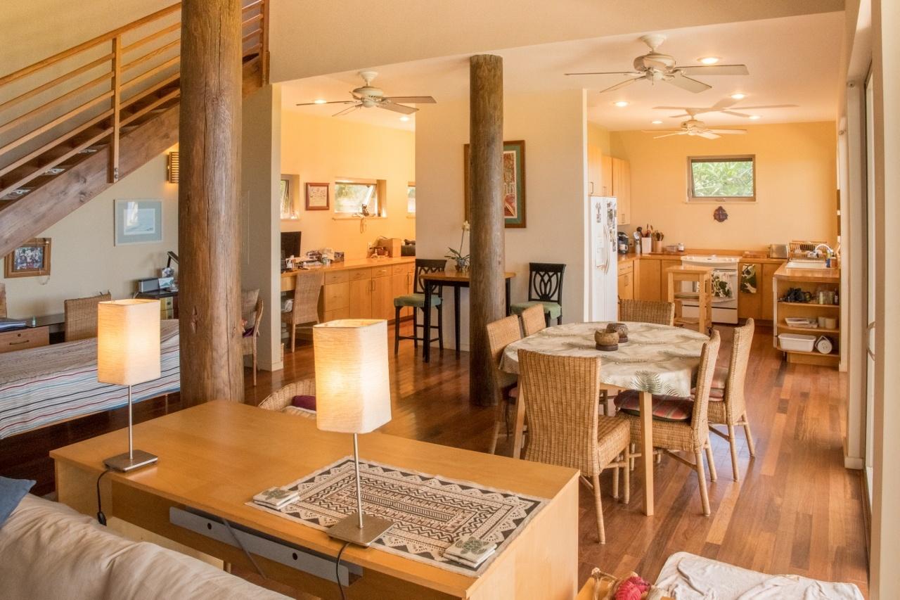 Open living space of Caretakers' Ohana