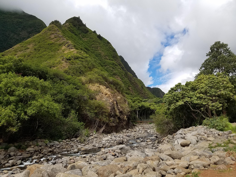 Iao Valley streambed