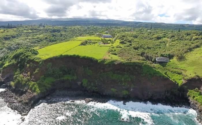 Haiku Maui north shore cliffs