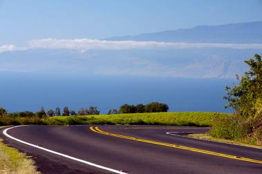 Kohala Mountain Road view of Maui