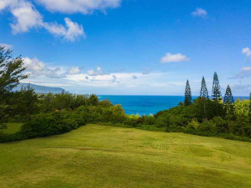 Just listed ocean view acreage on kauai s north shore for Hawaii life real estate brokers
