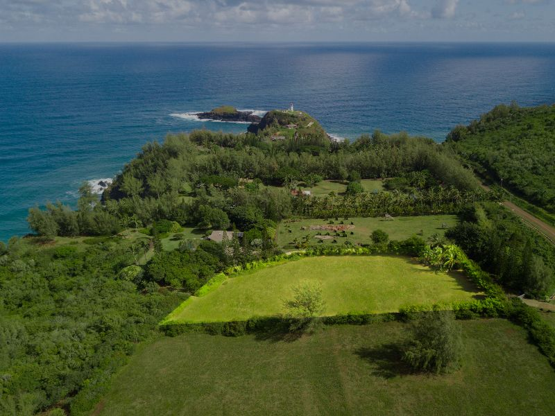 Just listed ocean view acreage on kauai s north shore for Kauai life real estate