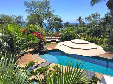 Poolside at 7131 Makena Rd.