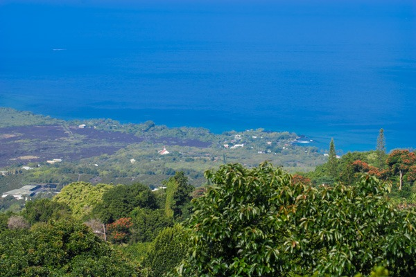 South Kona coastline views