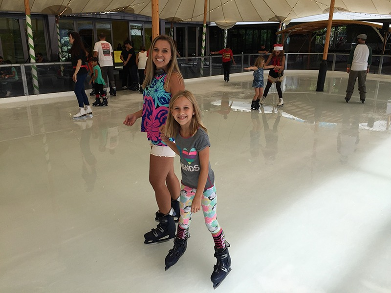Ward Village Skating