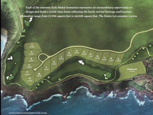 Kukuiula Kula Makai map