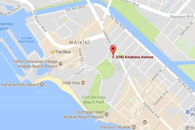 Luana Waikiki location