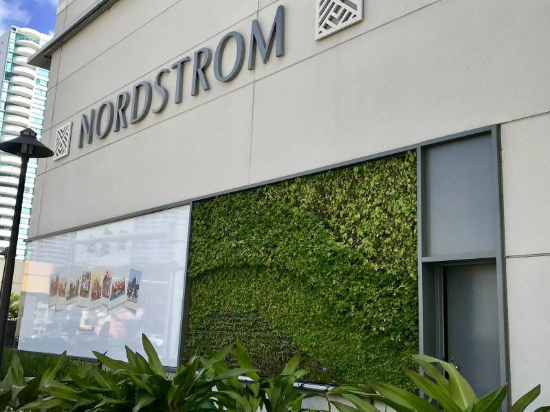 Living Wall at Nordstrom