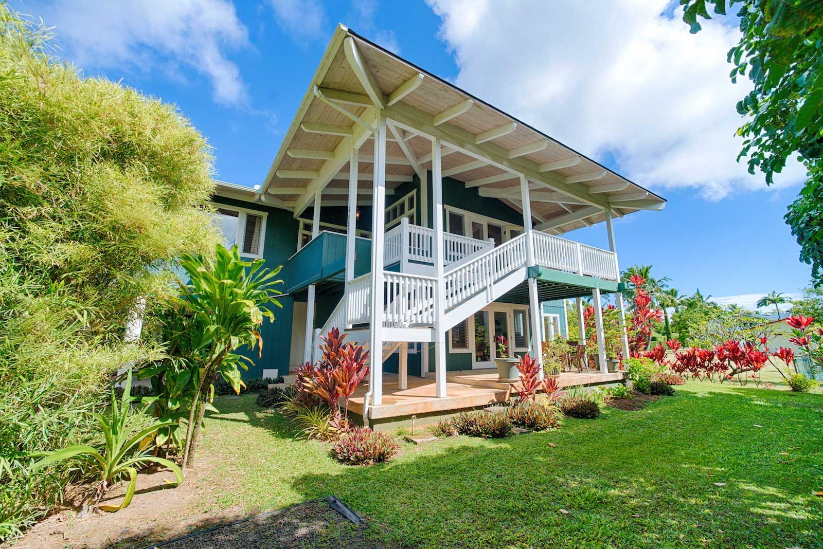 4451 mahimahi in hanalei now managed by hawaii life for Kauai life real estate