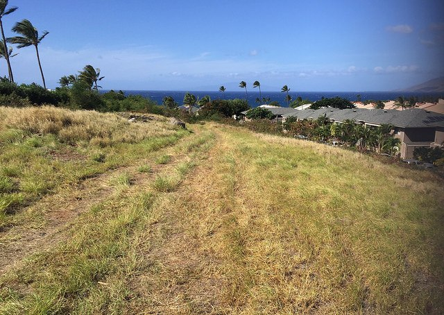 The site for Paradise Ridge Estates in Kihei Maui