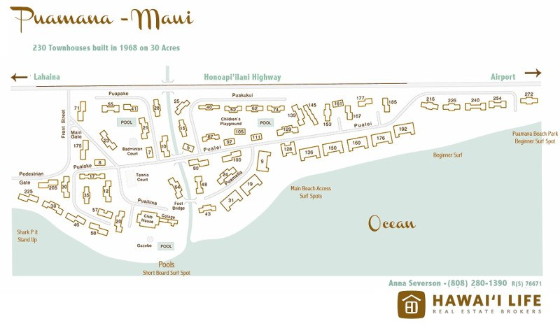photograph relating to Printable Map of Maui named Puamana Maui: Printable Puamana Map and Material - Hawaii