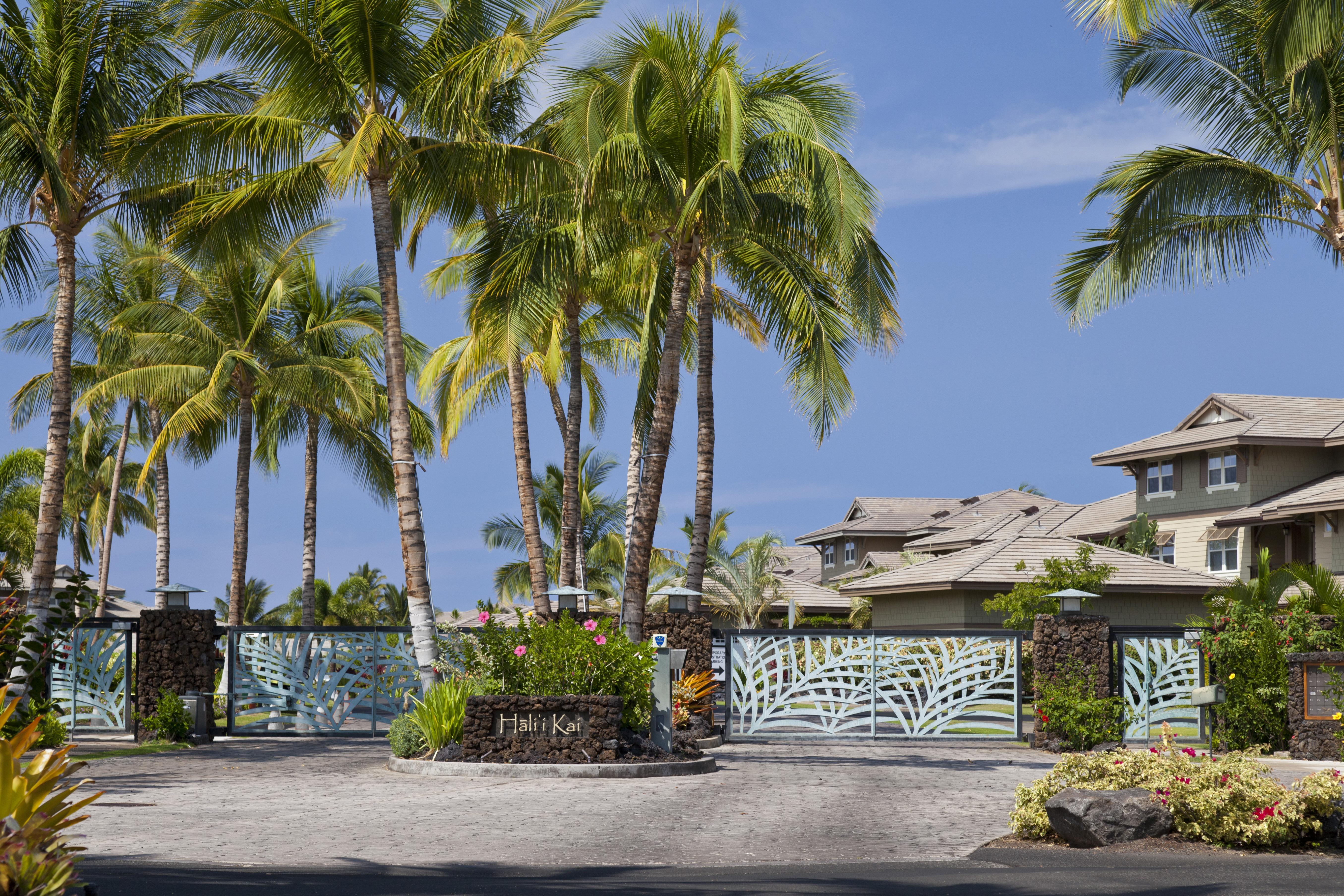 Halii Kai gated oceanfront condominium community