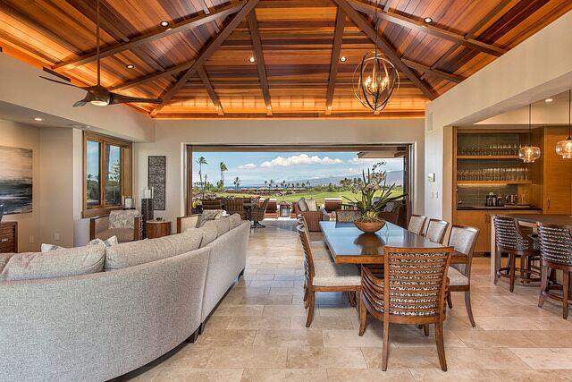 Residence at Lauleʻa at Mauna Lani furnished