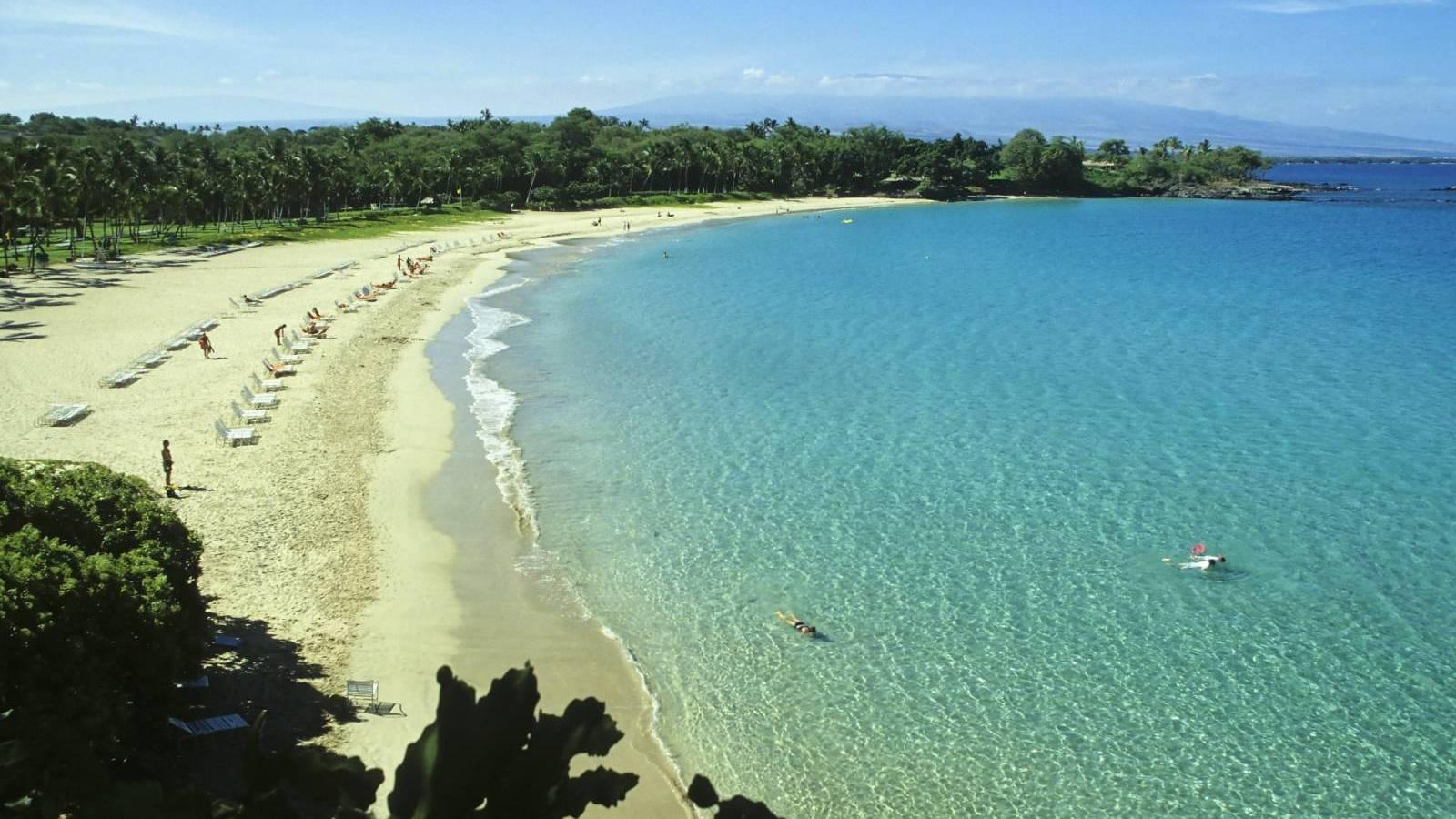 Kauna`oa Bay, Big Island, Hawaii
