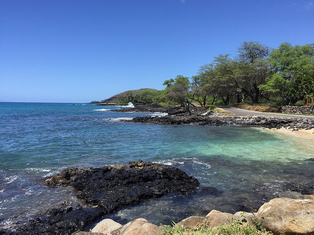 The Makena shoreline, Maui