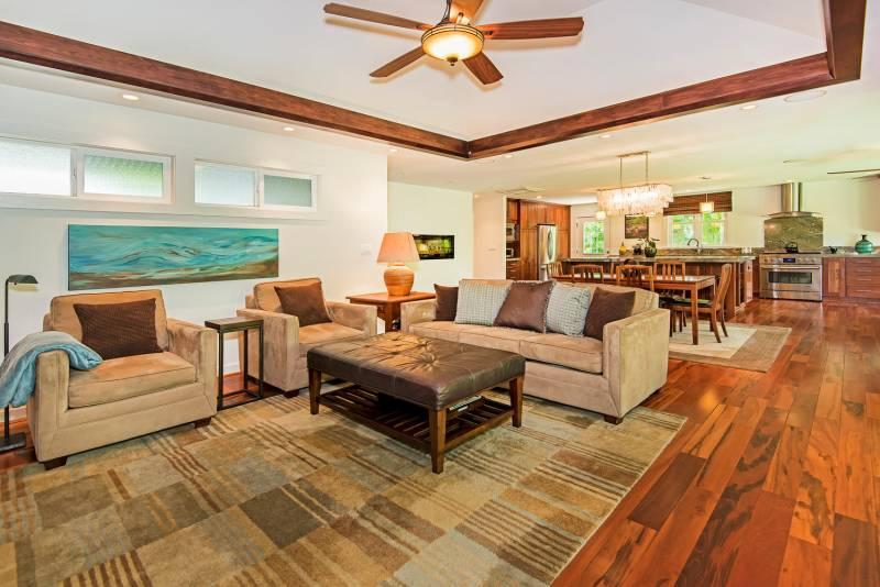 Main indoor living area