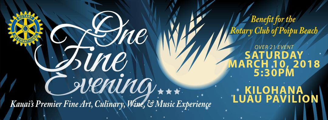 One Fine Evening