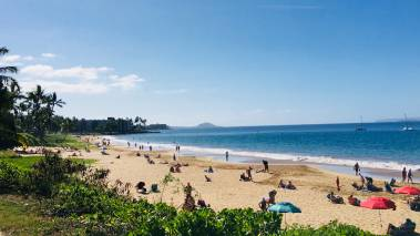 beach in kihei maui